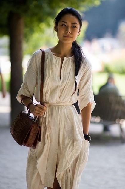 Тренд: платье-рубашка - фото №13