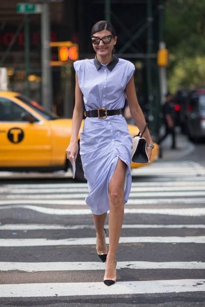 Тренд: платье-рубашка - фото №11