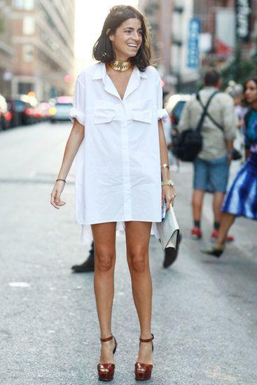 Тренд: платье-рубашка - фото №17