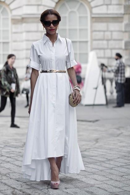 Тренд: платье-рубашка - фото №15