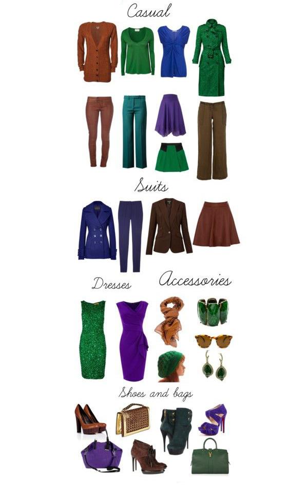Как подобрать гардероб по цветотипу Весна - фото №4