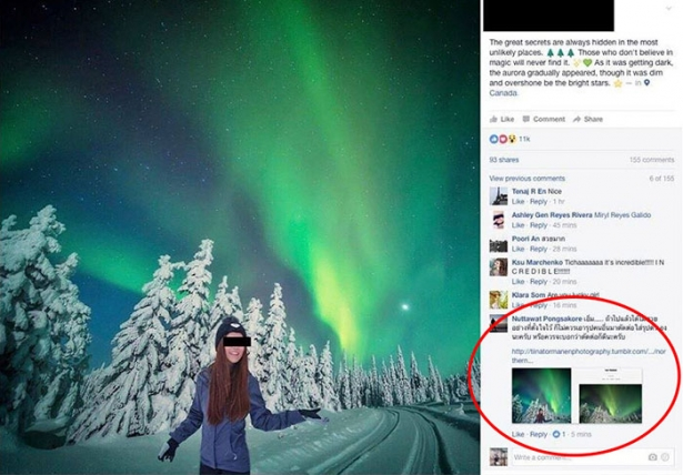 Не верь картинкам в соцсетях: популярный блогер фотошопила себя к чужим фото, делая вид, что она путешественница - фото №2