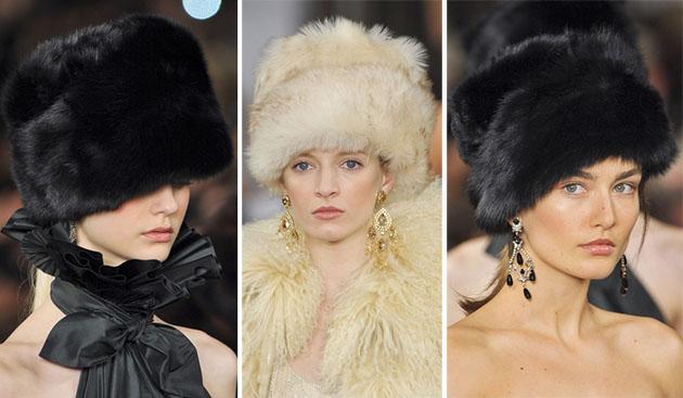 Модные шапки сезона осень-зима 2013-2014 - фото №1