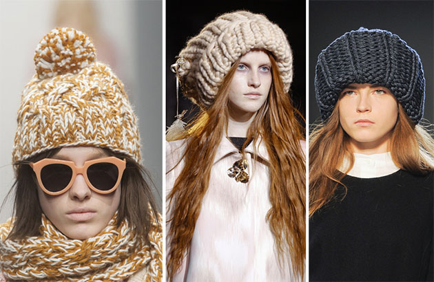 Зимний must have: вязаная шапка - 40 модных моделей - фото №1