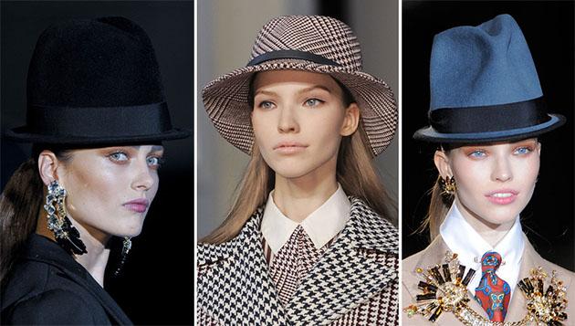 Модные шапки сезона осень-зима 2013-2014 - фото №13