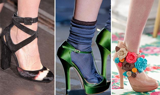 Модная обувь сезона осень-зима 2013-2014 - фото №2