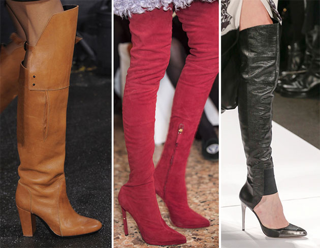 Модная обувь сезона осень-зима 2013-2014 - фото №23