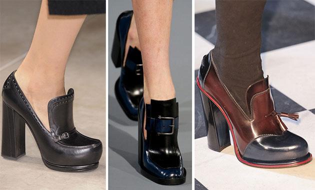 Модная обувь сезона осень-зима 2013-2014 - фото №17