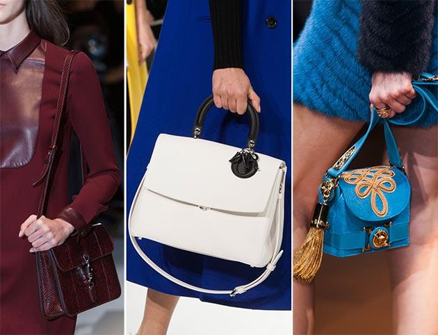 Модные сумки осени 2014: что, где, почем - фото №1