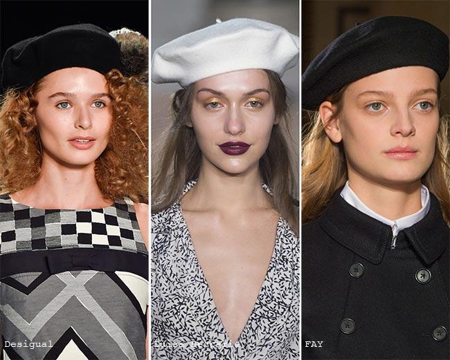 Модные береты на осень 2015