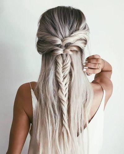 """Как плести косу """"рыбий хвост"""": учимся делать стильное плетение на все случаи жизни - фото №9"""