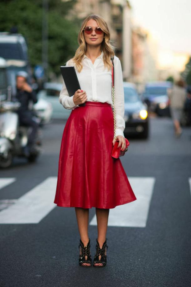 50 юбок в стиле new look - фото №17