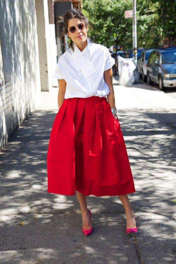 50 юбок в стиле new look - фото №16