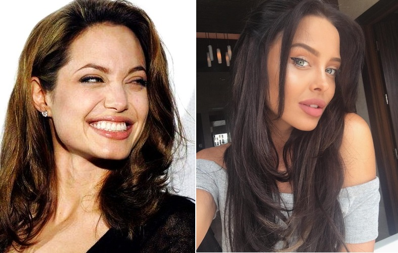 Джоли и двойник