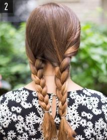 Что делать с волосами в жару: 10 идей простых летних причесок на длинные волосы 2016 (фото) - фото №32