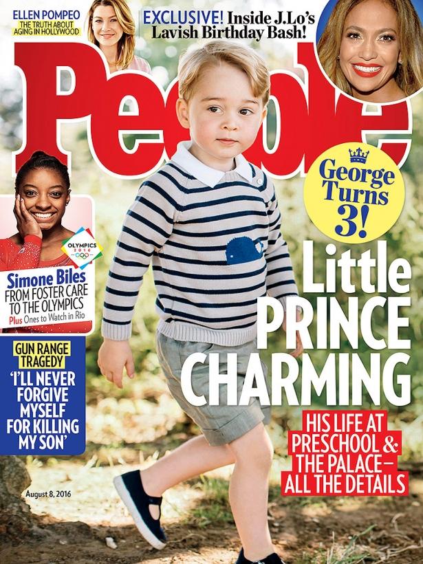принц джордж фото 2016