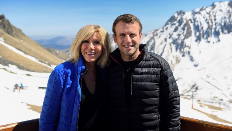 президент франции первая леди фото