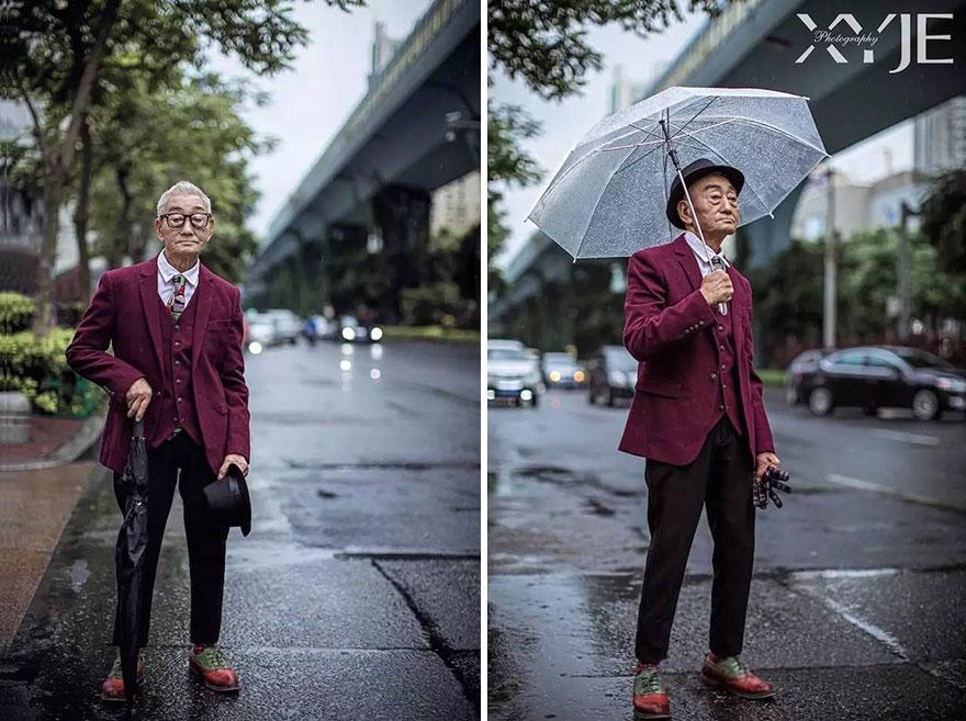 модный дедушка