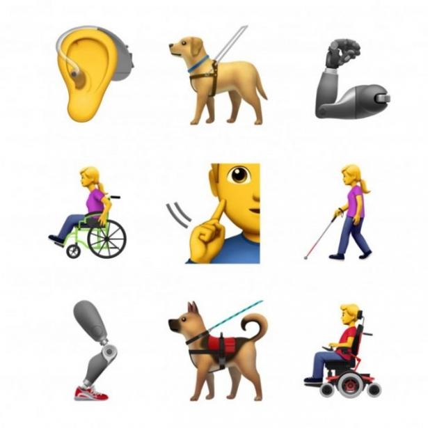 смайлики для людей с инвалидностью