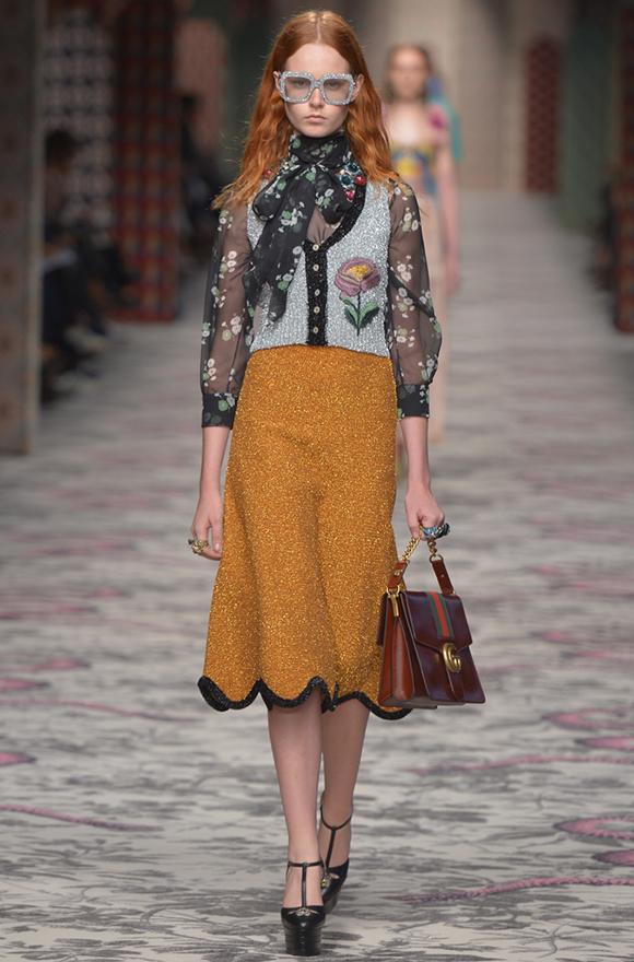 Неделя моды в Милане 2015 показ Gucci