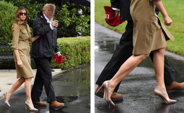 мелания трамп в техасе