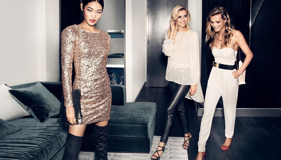 Какие платья к Новому году искать в H&M - фото №1