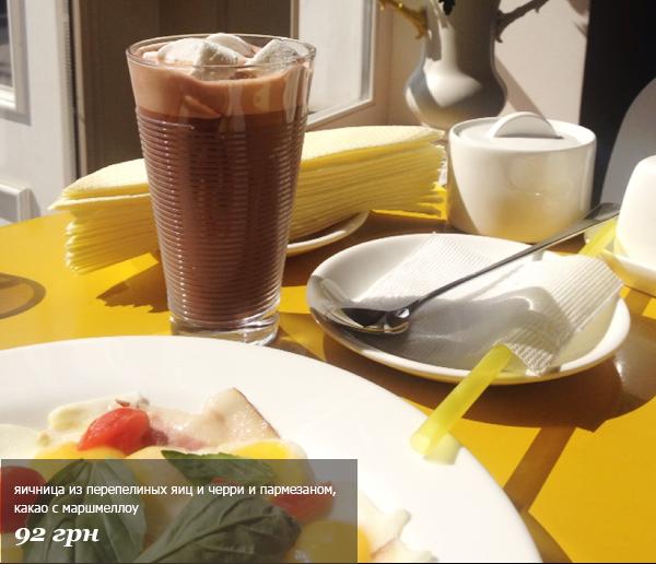 Где позавтракать в Киеве: Какао Блюз, Under Wonder и Honey - фото №2