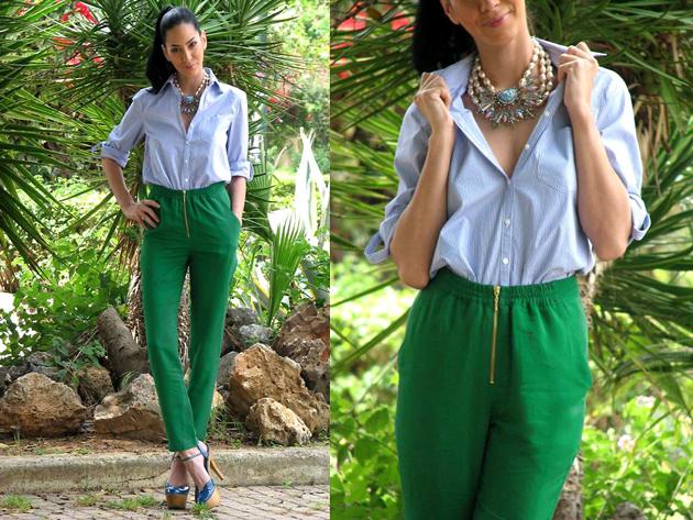 Тренд: изумрудно-зеленый цвет - как и с чем носить - фото №4