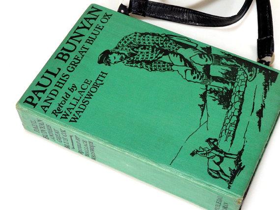 Внеклассное чтение: как из книги сделать клатч