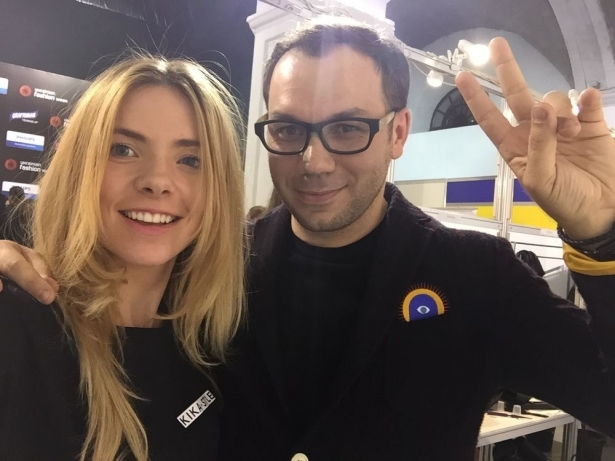 Ангелина Комарова и Андре Тан