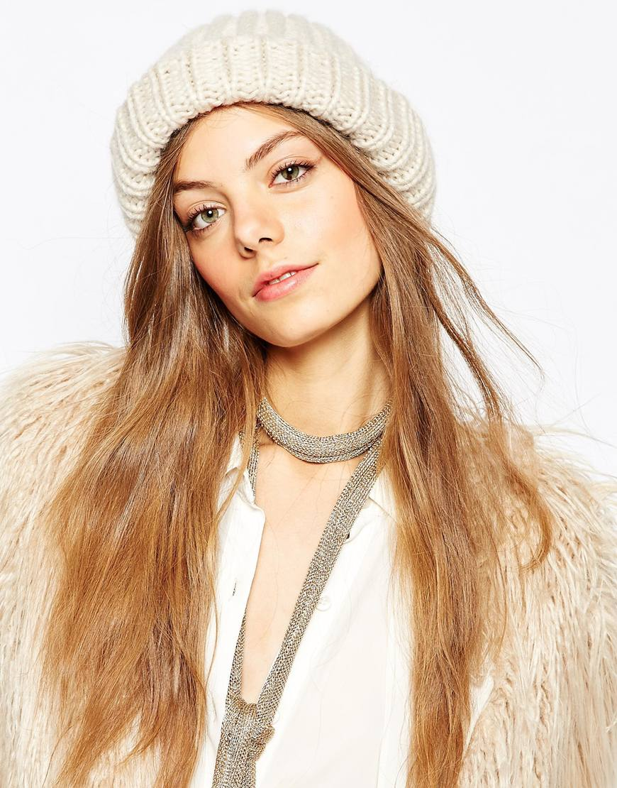 Где купить шапку крупной вязки на зиму