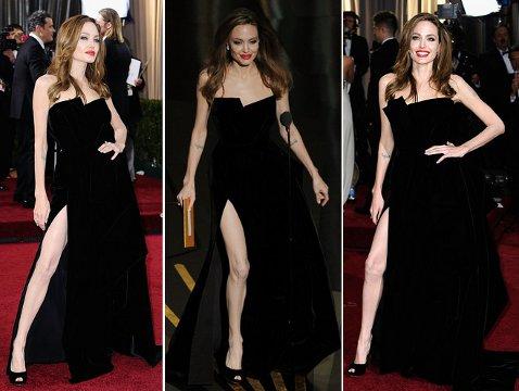 Чьи платья мы не сможем забыть: нога Анджелины Джоли, мясо Леди Гаги и прочий жемчуг - фото №1
