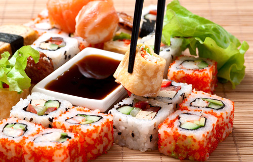 суши и роллы фото