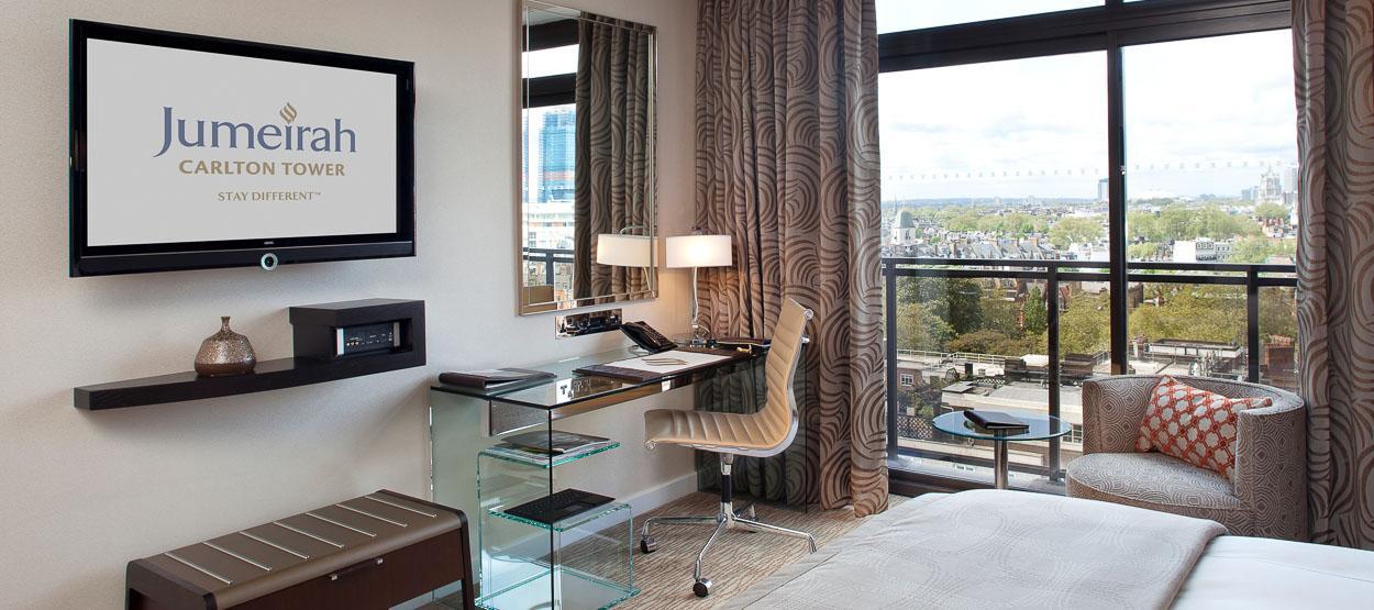 Лучшие отели мира: Jumeirah Carlton Tower 5* - фото №3