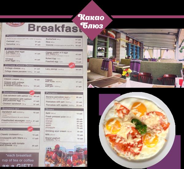 Где позавтракать в Киеве: Какао Блюз, Under Wonder и Honey - фото №5