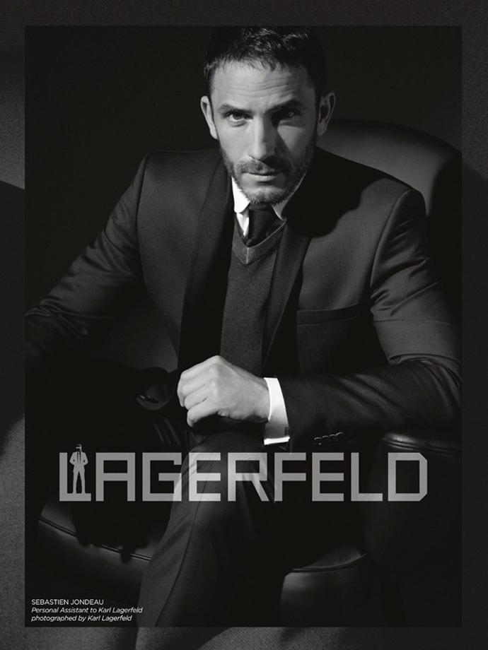 Карл Лагерфельд снял своего телохранителя в рекламе - фото №1