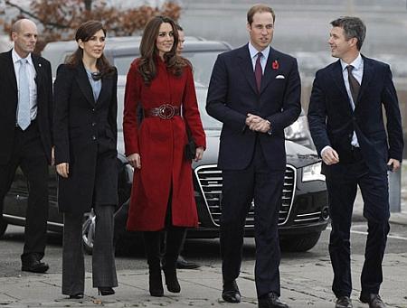 Официальный визит королевской пары. ФОТО - фото №2