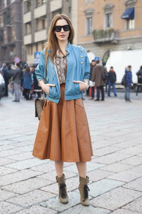 50 юбок в стиле new look - фото №8