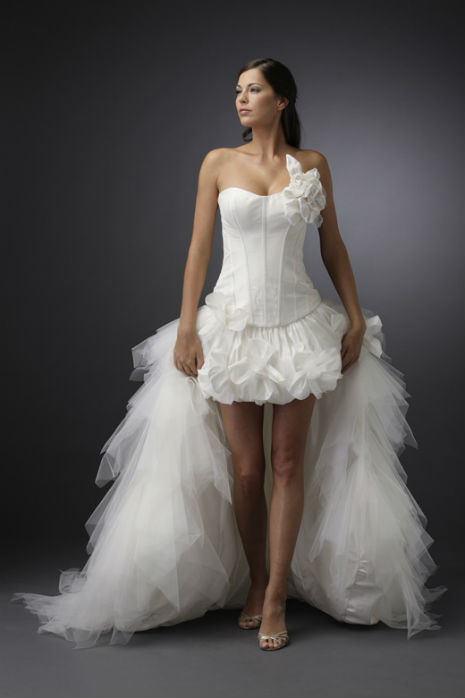 Наряд невесты: что может испугать жениха? - фото №2