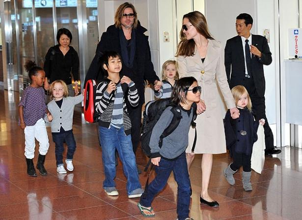 Дети Питта и Джоли