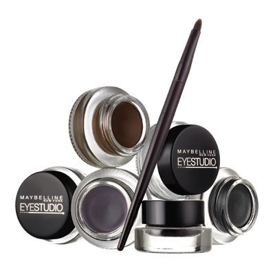 Подводка для глаз Eyestudio Lasting Drama Gel Liner, Maybelline New York