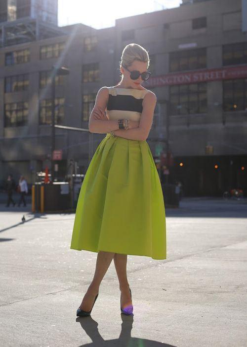 50 юбок в стиле new look - фото №11