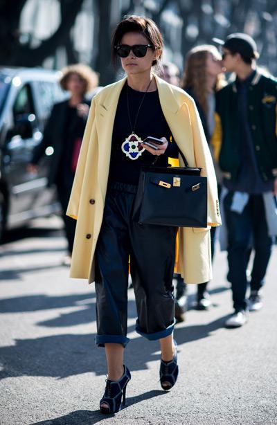 Тренд: модные брюки-кюлоты - фото №31