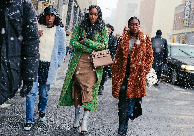 Streetstyle: гости Недели моды в Нью-Йорке, часть 2