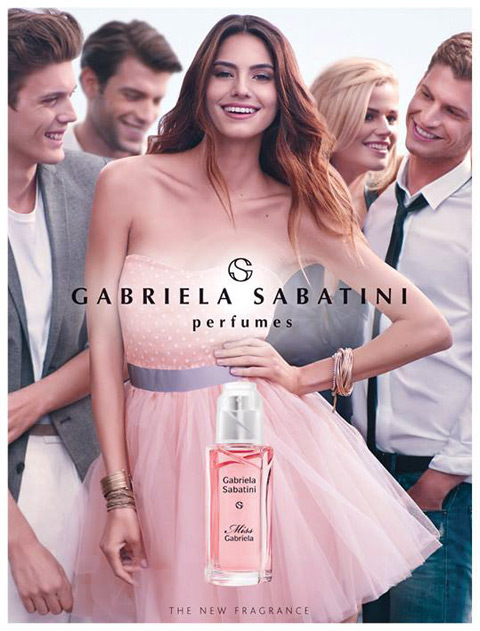 Габриэла Сабатини представит новинку Miss Gabriela - фото №1