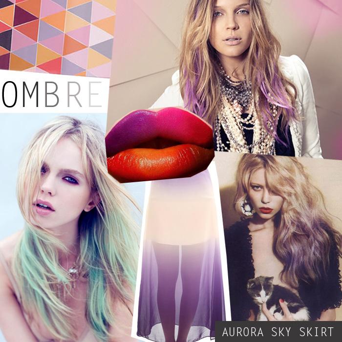 Модный тренд: градиент – переход цветов на одежде - фото №2