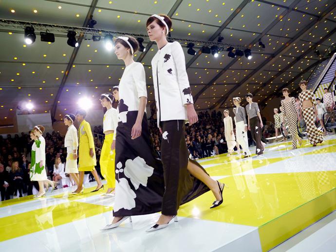 Неделя моды в Париже: шахматная доска от Louis Vuitton - фото №6
