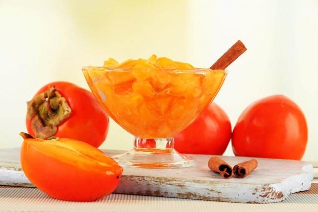 варенье из хурмы с апельсином