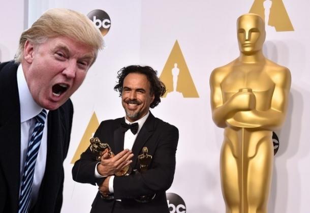 Дональд Трамп на Оскаре