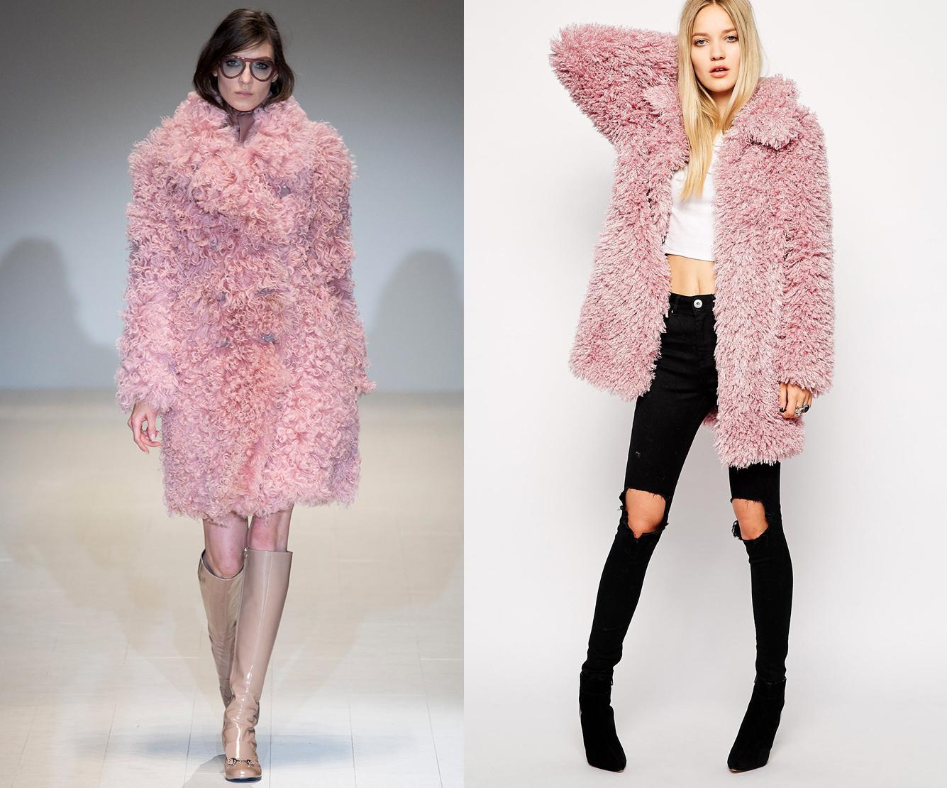 Куртка из овчины Gucci - фото №1